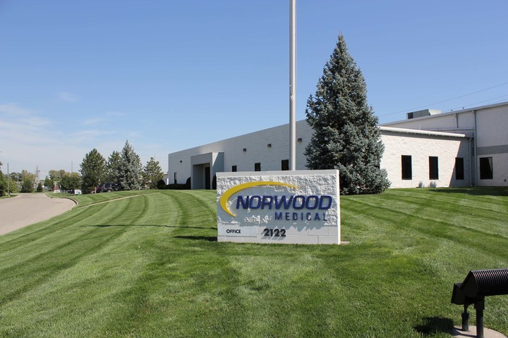 Norwood Medical Center signage